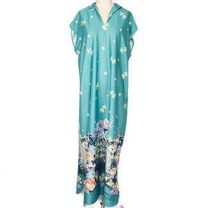 VTG Granada | Floral Pattern Muumuu Dress